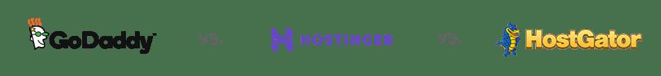 Hostgator vs. GoDaddy vs. Hostinger
